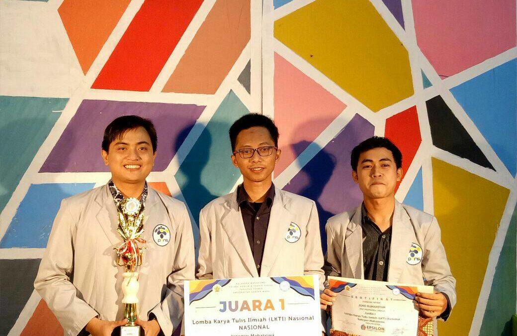 Tim Elika PENS, Raih Juara Pertama dalam LKTI EPSILON 2018