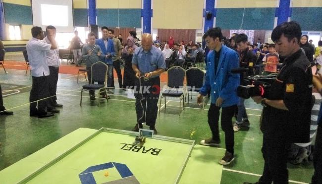 Kontes Robot Tingkat Pelajar Digelar Polman Babel