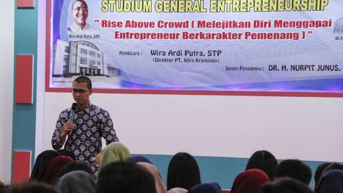 Tumbuhkan Minat Mahasiswa di Bidang Entrepeneur, PCR Gelar Kuliah Umum Entrepreneurship