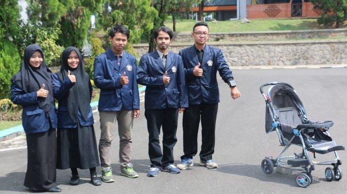 Mahasiswa Polines Ciptakan Kereta Bayi Anti Maling