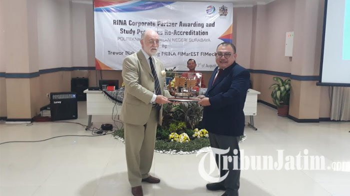 PPNS Dapatkan Sertifikasi The Royal Institution of Naval Architect
