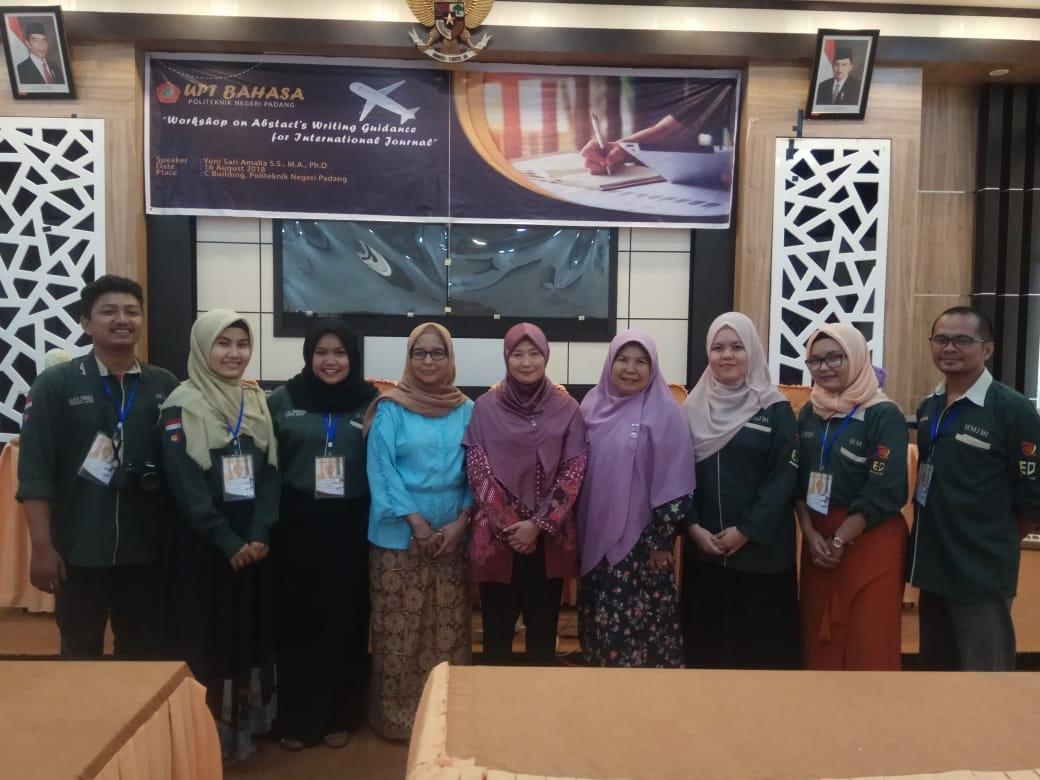 Politeknik Negeri Padang Gelar Workshop Menulis Artikel Internasional