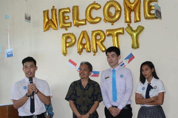 Mahasiswa Thailand dan Filipina Belajar di Politani Pangkep