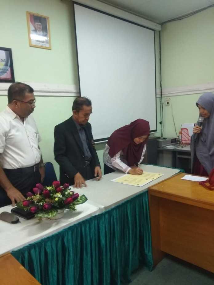 Mahasiswa PNUP Makassar Terima Beasiswa Chocolicius Indonesia