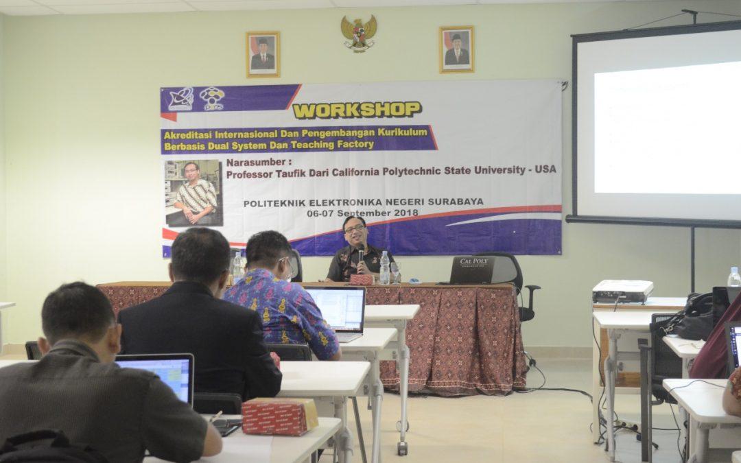 Prof. Taufik Revitalisasi Menuju Akreditasi Internasional