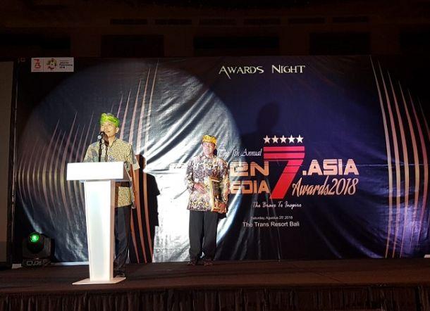 Politani Pangkep Raih Seven Media Asia Award 2018