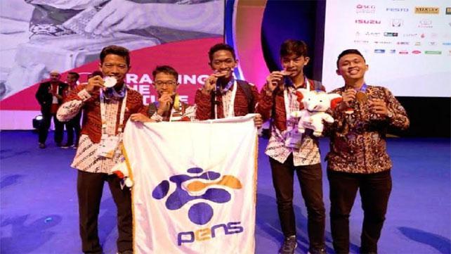 Tim Pens Ukir Prestasi Internasional di Asean Skills Competition XII