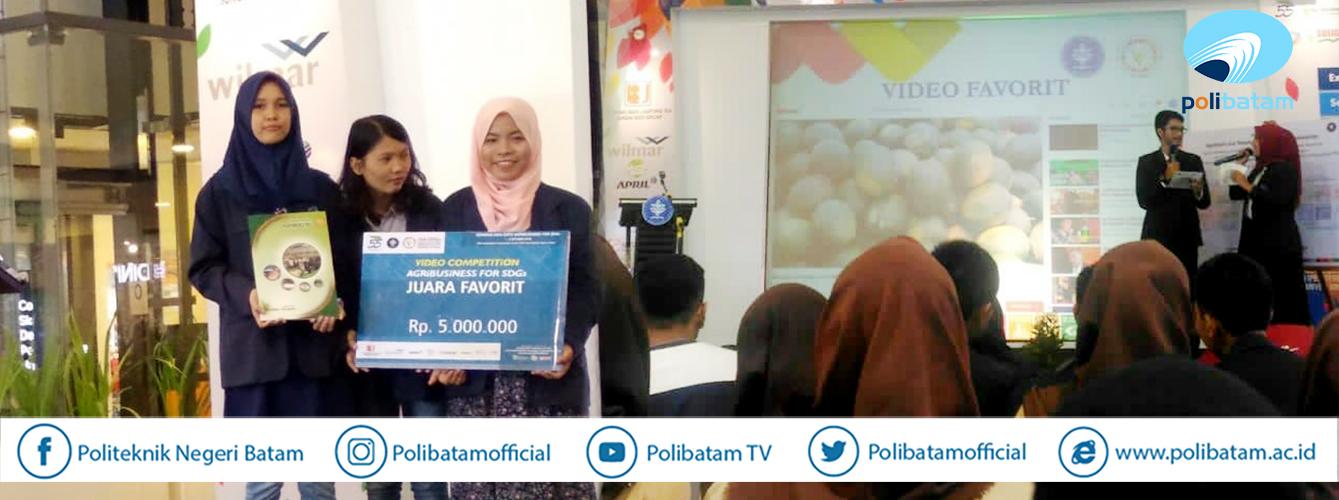 Video Karya Mahasiswa Teknik Multimedia dan Jariangan Polibatam Jadi Juara Favorit di Ajang SDG's Bogor