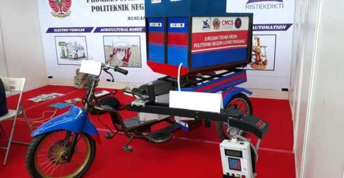 Begini Penampakan Motor Listrik Buatan Mahasiswa Makassar