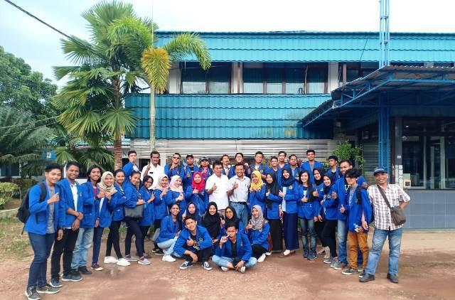 Perdalam Praktik CSR, Mahasiswa Politani Samarinda Kunjungi Kitadin