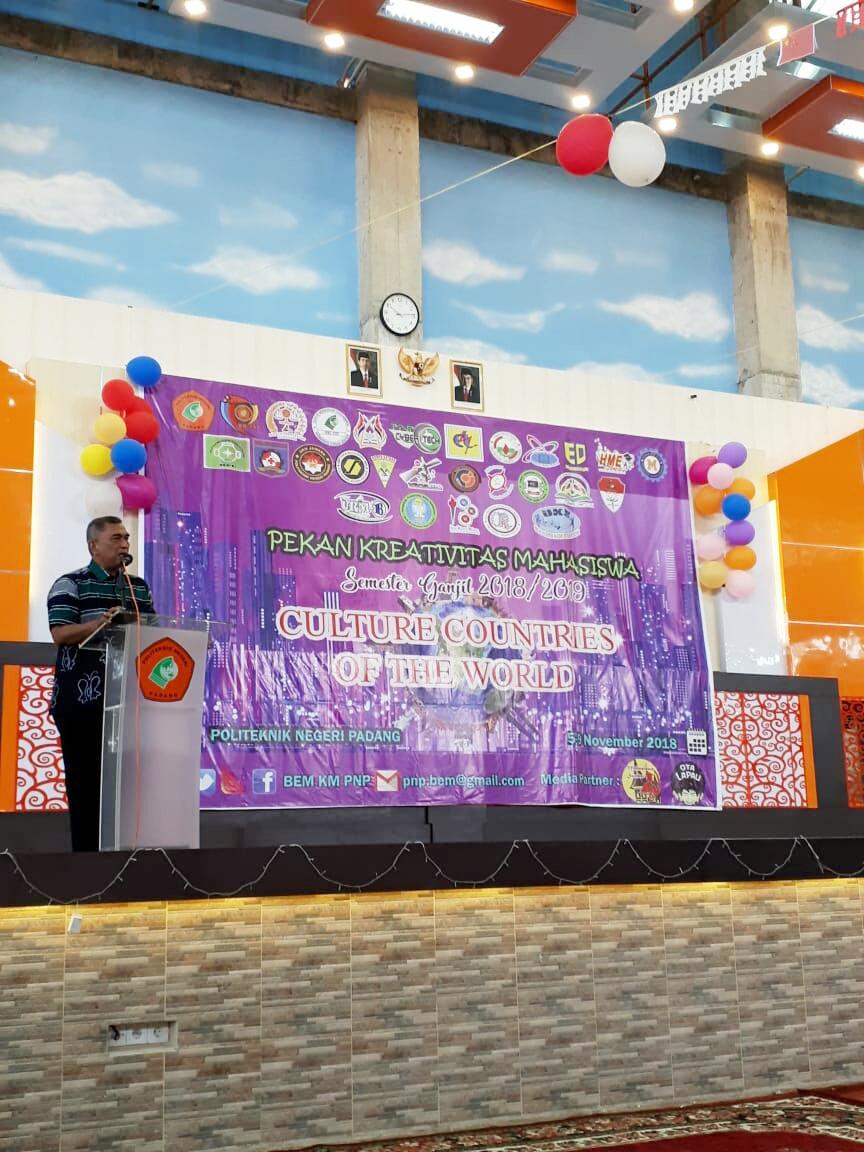 Ratusan Kegiatan Dihelat Pekan Kreatifitas Mahasiswa (PKM) Politeknik Negeri Padang