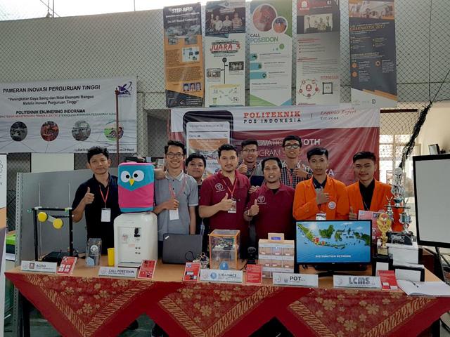 D4 Teknik Informatika Politeknik Pos Indonesia Pamer Inovasi