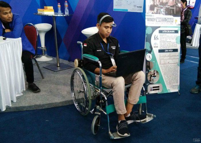 Politeknik Caltex Riau Kembangkan Kursi Roda Berbasis Sinyal Otak