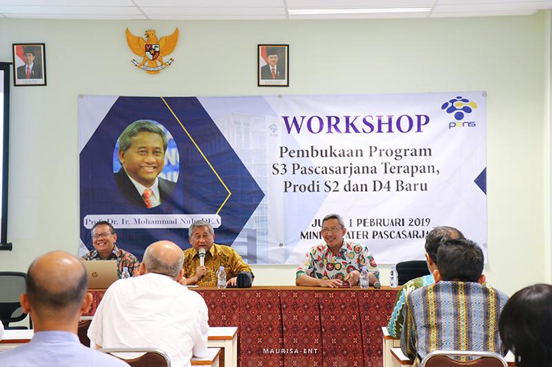Gelar Workshop Pembukaan Program Studi Baru, PENS Hadirkan M. Nuh
