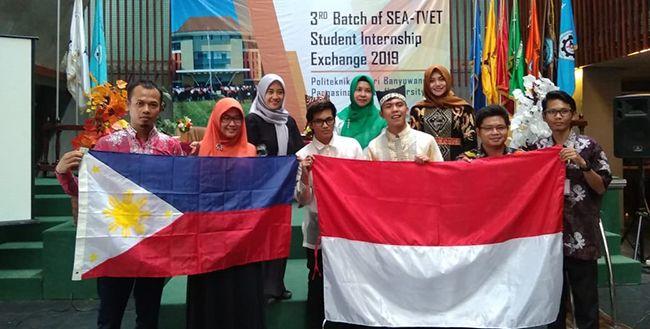 Poliwangi dan Filipina Saling Tukar Pelajar