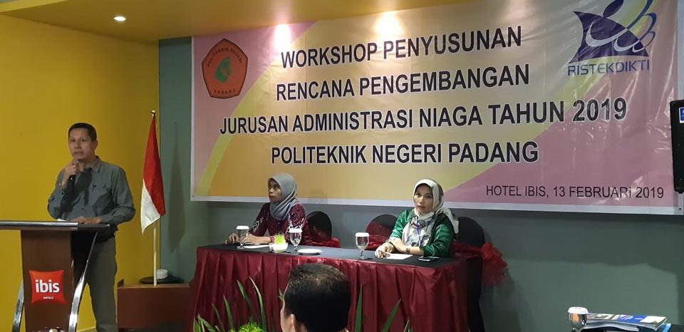 Revalin Imbau Pengelola Jurusan PNP Manfaatkan 8,7 Triliun Dana Dikti Tahun Ini