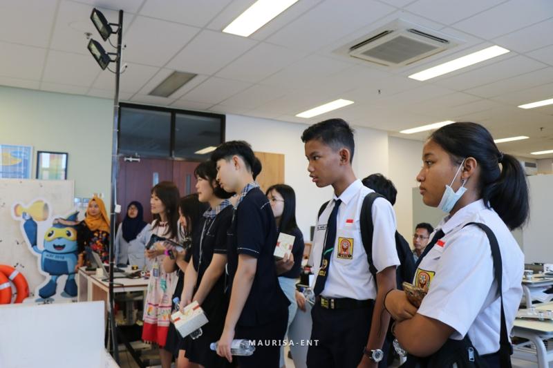 PENS Jadi Salah Satu Tujuan Kunjungan Program Pertukaran Pelajar Surabaya-Busan 2019