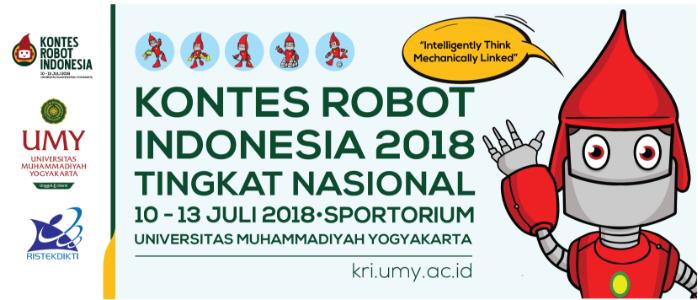 Tim Robot PENS Melaksanakan Running Test di KRI 2018