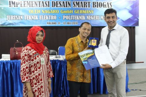Polinema Gelar Workshop Teknologi Pengolah Sampah