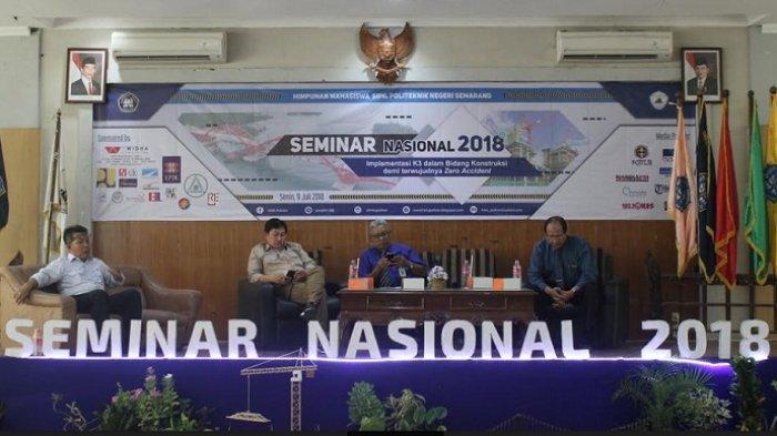 Seminar Nasional: Pemilik Konstruksi Wajib Memiliki K3
