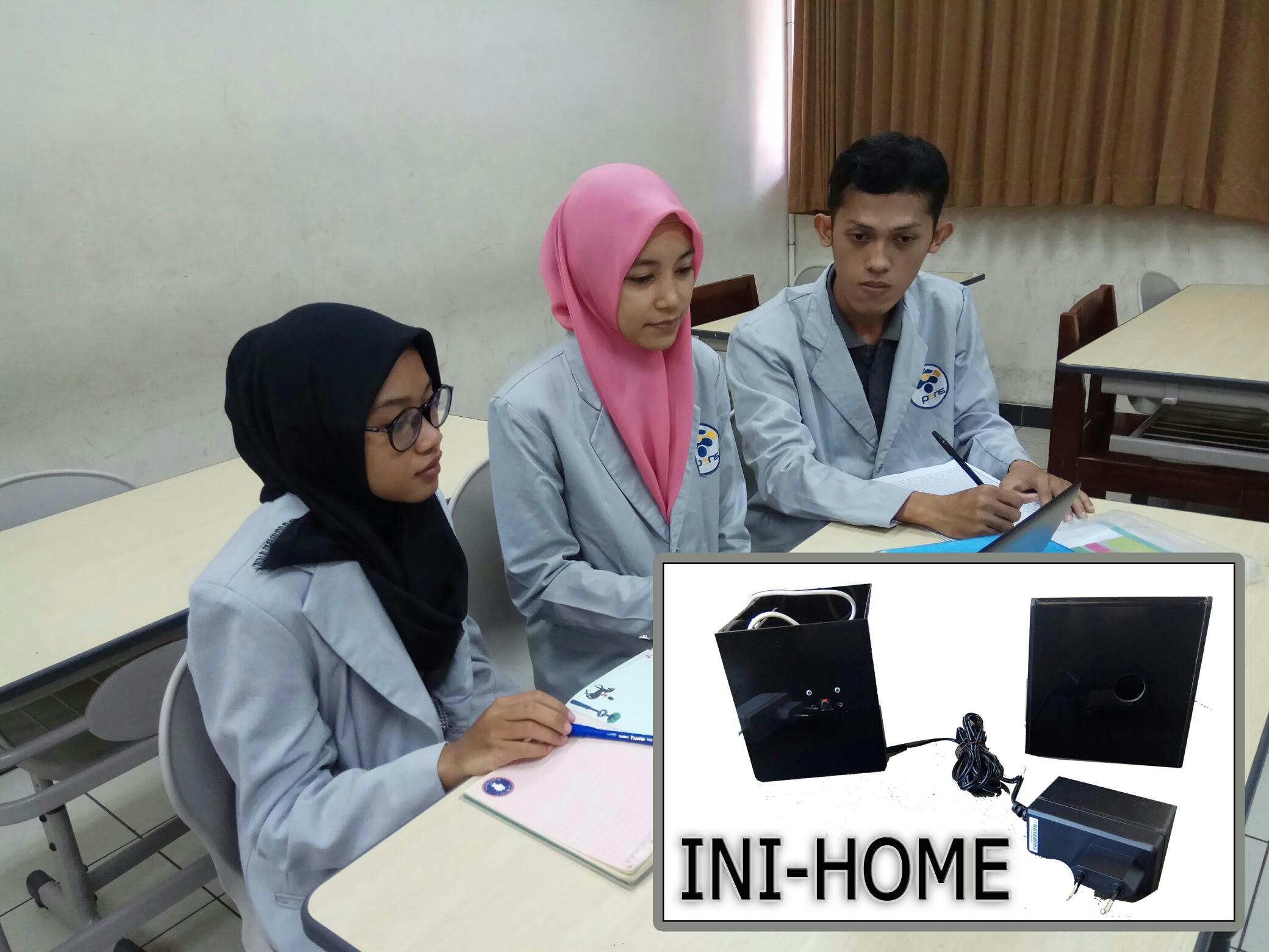 INI-HOME Sistem Monitoring Keamanan Rumah secara Real-Time Karya Mahasiswa PENS