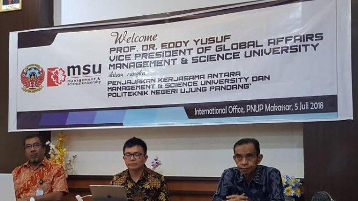 PNUP Makassar Siapkan 20 Kursi Maba Kelas Internasional