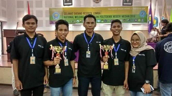 Mahasiswa Polman Babel Juara Las Nasional dan Internasional