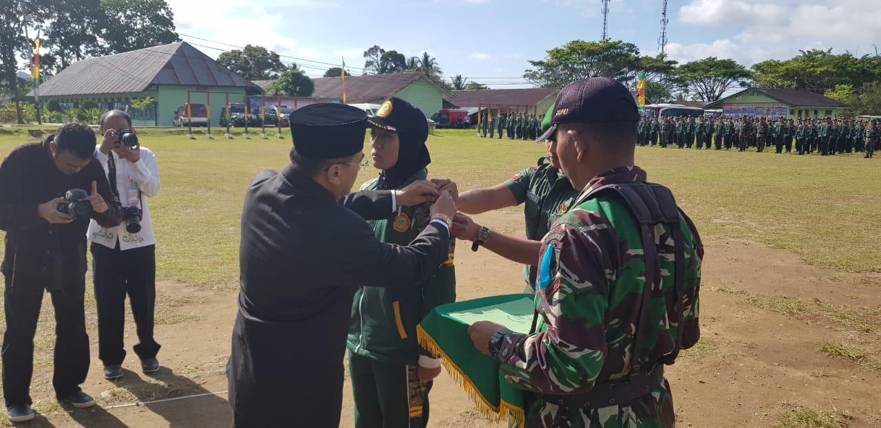 BINTALFISDIS Tanamkan Kedisiplinan Pada Mahasiswa Politeknik Negeri Padang