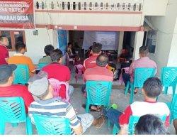 PKM Polimdo Edukasi Membangun Rumah Aman Gempa ke Tukang di Tateli