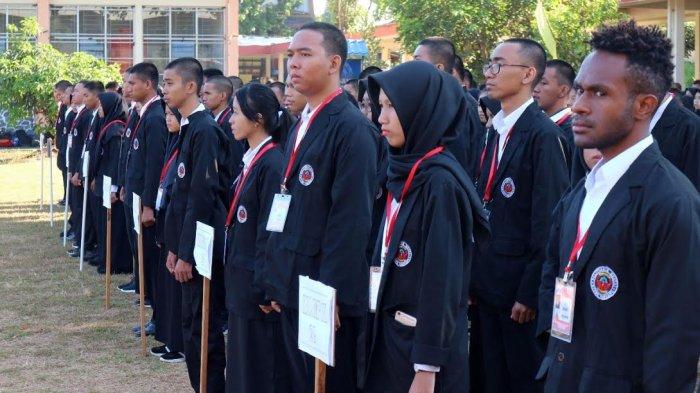 Maba PNUP Ikuti Pendidikan Bela Negara di Rindam XIV Pakkatto Gowa
