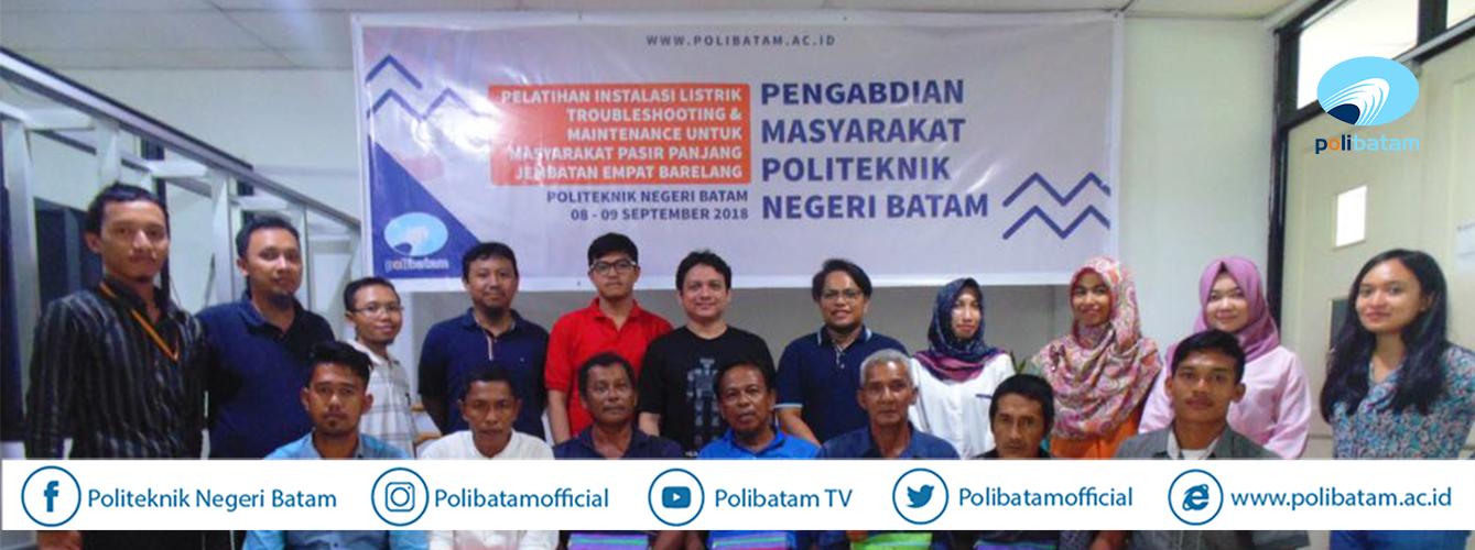 Desa Pasir Panjang Tidak Ada Listrik, Polibatam Pasang Panel Surya