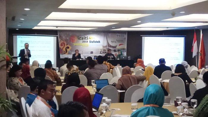 ICAITI 2018, Pakar IT dari Tiga Negara Berkumpul di Padang