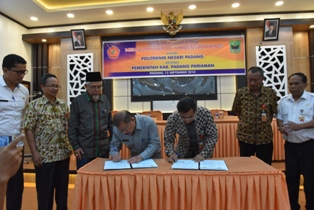 Pemkab Padang Pariaman dan PNP Jalin Kerjasama Tingkatkan Pendidikan Tinggi Masyarakat