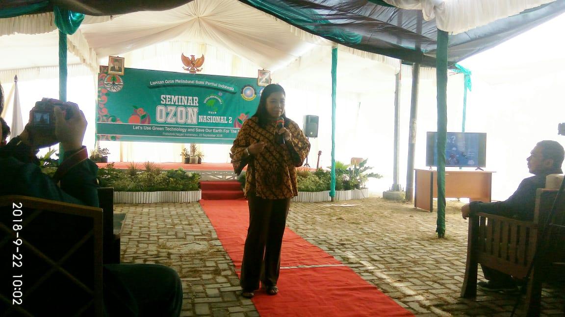 Seminar Ozon Nasional, Polindra Jalin Sinergitas Bersama KLHK dan DLH