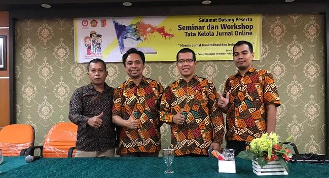 Politeknik Negeri Padang Adakan Seminar bagi Pengelola Jurnal