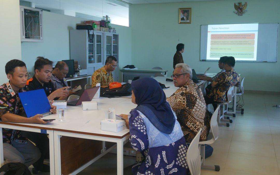 Giring Kualitas, P3M PENS Selenggarakan Monev Penlok
