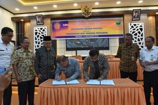 Pemkab Padang Pariaman dan Politeknik Negeri Padang Jalin Kerjasama Tingkatkan Pendidikan Tinggi Masyarakat