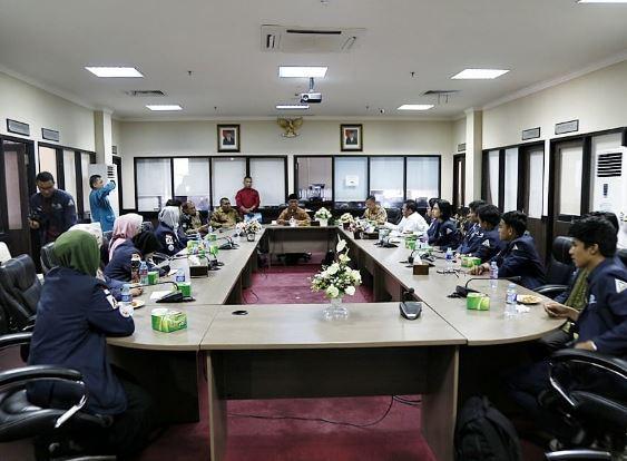DLM Politeknik Negeri Batam Berkunjung ke Komisi I DPRD Kepri