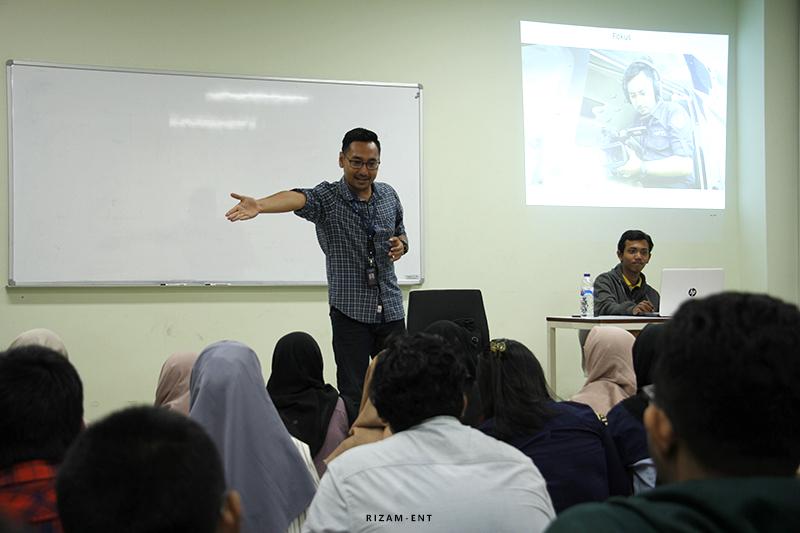 Kuliah Tamu HIMA MMB Hadirkan Video Jurnalis NET TV