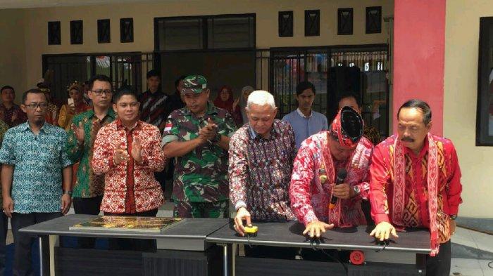Resmikan PSDKU Polnep di Sanggau, Ini Pesan Paolus Hadi