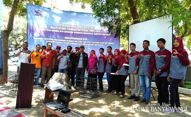 UKM Poliwangi Research dan Study Club Konservasi Biota Laut
