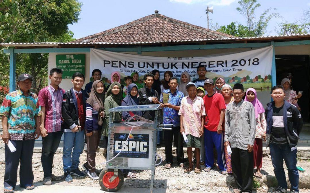 PENS Untuk Negeri : Serahkan Alat Inovasi ESPIC Untuk Membantu Para Petani di Dusun Jatirajah
