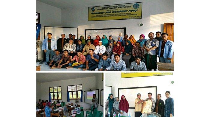Wujudkan Pengabdian Masyarakat, Polnep Gelar Pelatihan di Kabupaten Mempawah