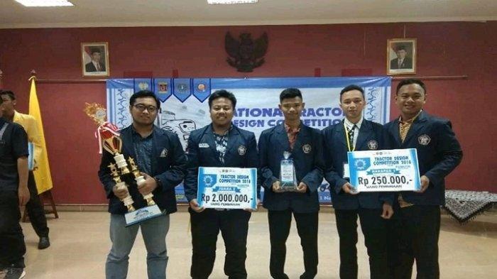 Tim Mahasiswa Polines Raih Juara Umum II di Lomba Tractor Design Competition