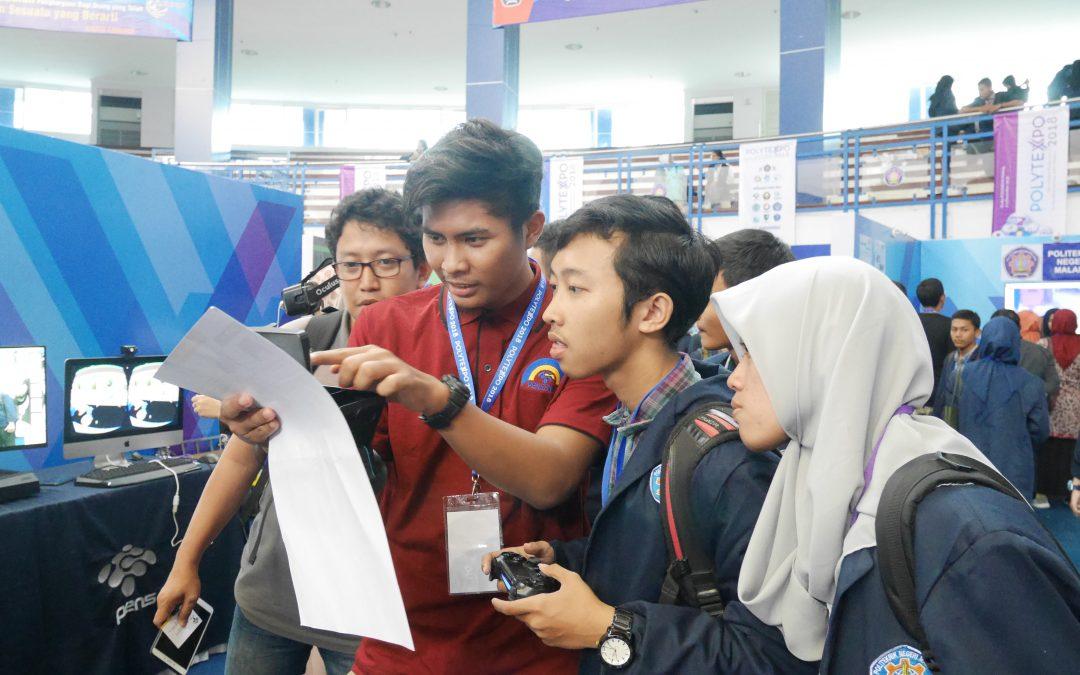 Smart Canteen hingga Virtual Lab Curi Perhatian Pengunjung