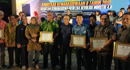 PCR Raih Penghargaan Terbaik 1 Dalam Anugrah Kemahasiswaan 2018