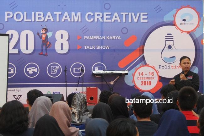 Polibatam Creative Ditutup Talkshow Fotografi
