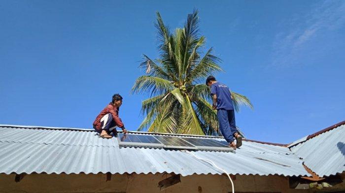PPM Elektro Polnep Pasang Listrik Pembangkit Listrik Tenaga Surya Gratis di Pulau