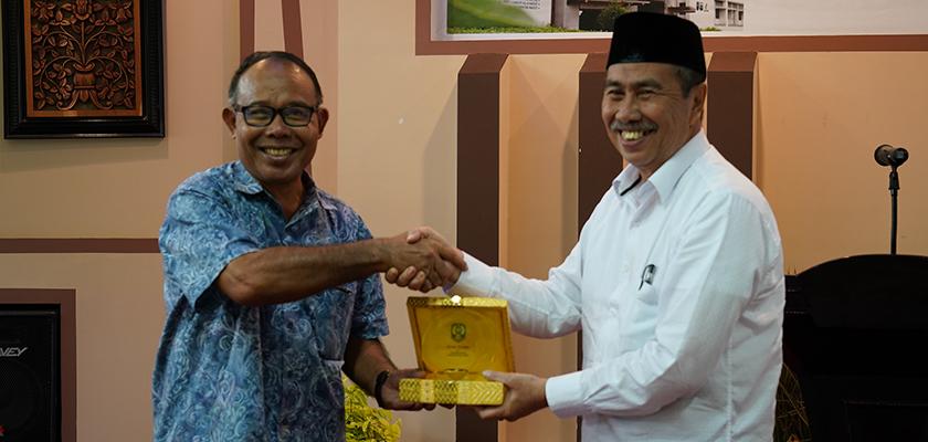 Jalin Silaturahmi, Syamsuar dan Edy Kunjungi PCR