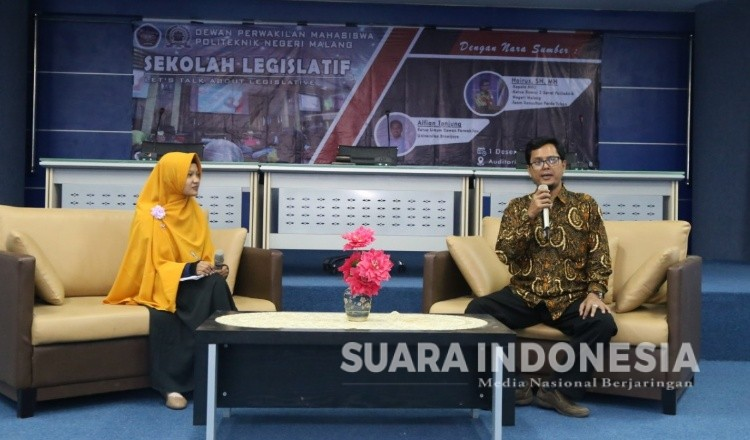 Dorong Partisipasi Politik Mahasiswa, DPM Polinema Malang Gelar Sekolah Legislatif